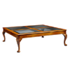 Walnut Coffee Table 4 Pane