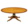 Burr Oak Centre Table