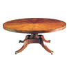 Mahogany Circular Dining Table