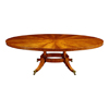 Mahogany Extending Oval Dining Table