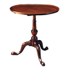 Mahogany Dish Top Tea Table