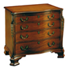 Mahogany Serpentine Chest